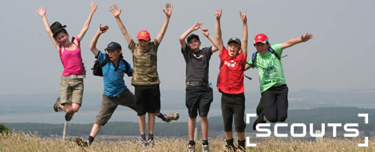 Scouts Jumping